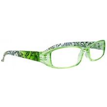 Läsglasögon Naxos Grön